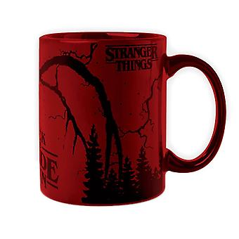 Stranger Things Mind Flayer Mug métallique