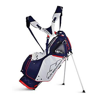 Sun Mountain Four-5 LS 4-Way Stand Carry Golf Bag 4.5 LS Navy/White/Red