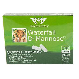 Sweet Cures Waterfall D-Mannose 500mg Tablets 100