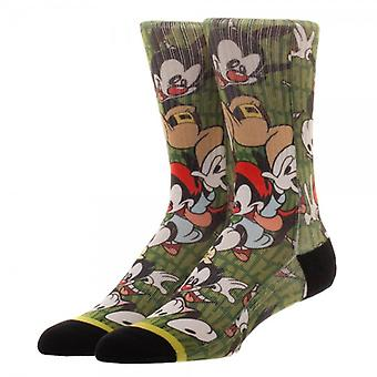 Crew Socks - Animaniacs - Jump Sublimation S New Licensed cq60srani