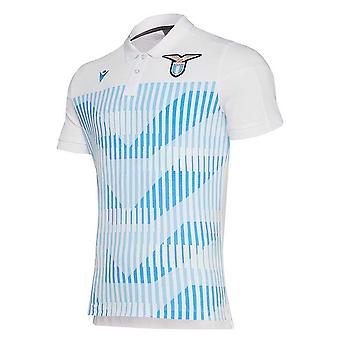 2019-2020 Lazio pre-match Polo shirt (wit)