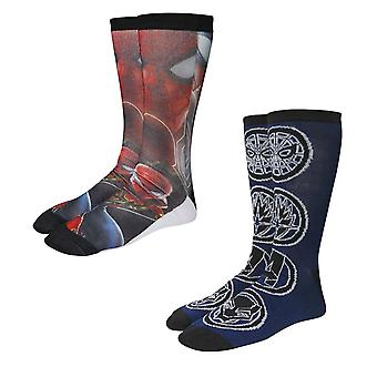 Spider-Man Infinity Guerra Calcetines Photoreal 2-Pack