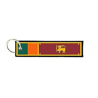 Port Cles Key Cle Homme Homme Fabric Brode Prints Sri Lanka Sri Lanka flag