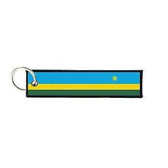 Port Cles Clef Cle Homme Homme Fabric Brode Prints Flag Rwanda Rwandan