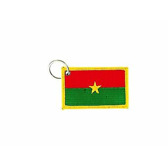 Cle Cles Clef Brode Patch Ecusson Badge Flag Burkina Faso Burkinafaso