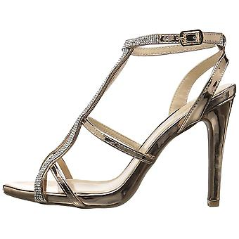 Qupid Womens Grammy-253 Open Toe Special Occasion Ankle Strap Sandals