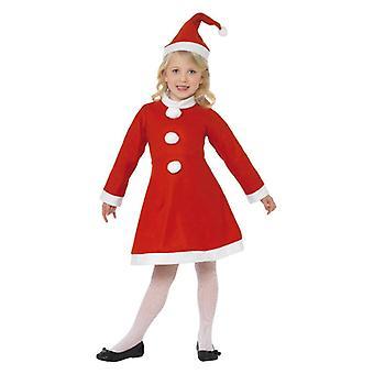 Dievčatá Santa girl vianočné maškarné kostým