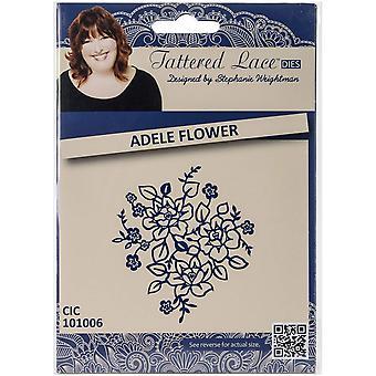 Créer et artisanat métal lambeaux dentelle Die-Adele fleur