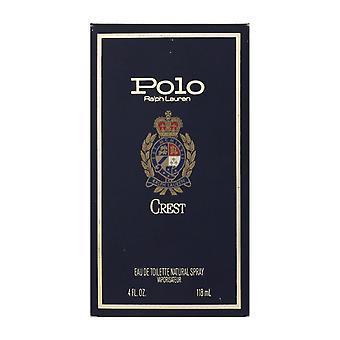 Ralph Lauren Polo Crest Eau de Toilette Spray 4,0 oz/118ml i låda (Vintage)