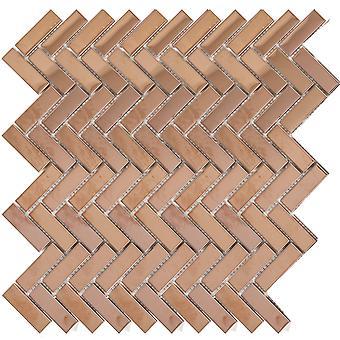 Mosaik D-sign Fishbone Copper
