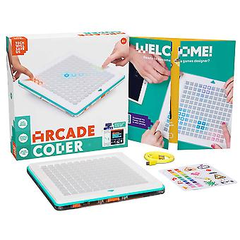 Tech Will Save Us Arcade Coder | Educational Coding & Gaming Toy, Ages 6 and up