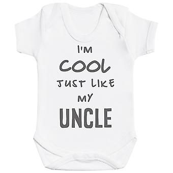 Body I-apos;m Cool Just Like My Uncle Baby Bodysuit