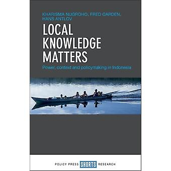 Local Knowledge Matters by Kharisma Nugroho