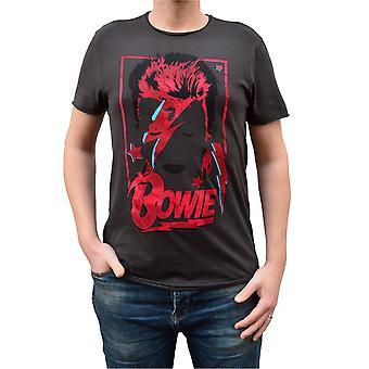 Zesílené David Bowie Aladdin Sane Výročí Crew Krku T-Shirt