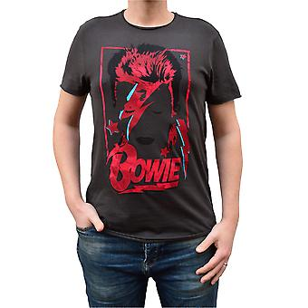 Zosilnený David Bowie Aladdin Sane výročie posádky krku T-Shirt