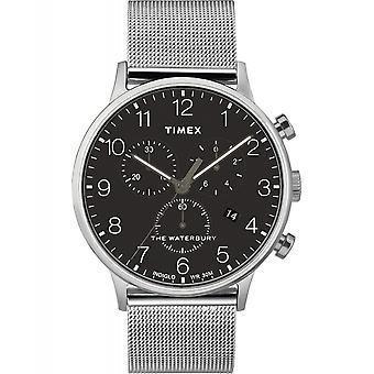 Timex TW2T36600 Waterbury klassisk chronograph armbåndsur