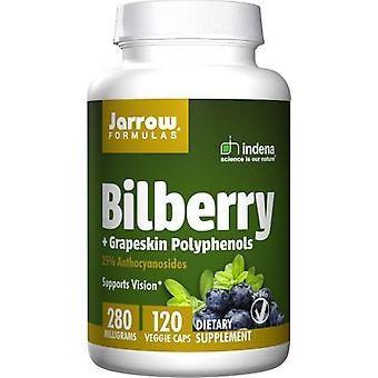 Jarrow Formulas Cranberries + Grape Polyphenols 120 Vegetarian Capsules