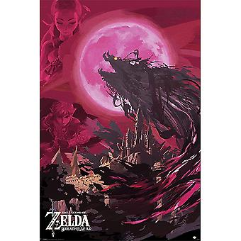 De legende van Zelda, Maxi poster-ganon Blood Moon