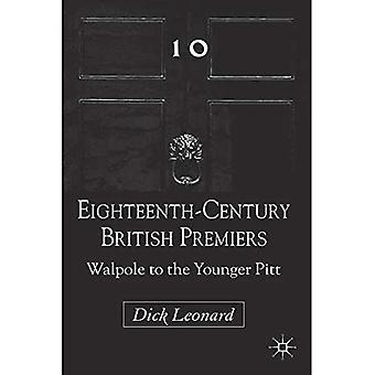 Britische Premiers des 18. Jahrhunderts: Walpole zum jüngeren Pitt