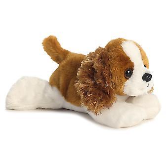 Aurora världen Charles den hund Mini Flopsies Spaniel plysch leksaken