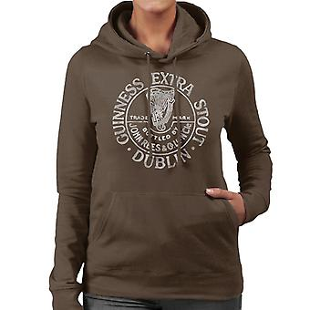 Guinness Extra Stout Women's Hooded Sweatshirt