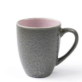 Bitz Grey and Pink Mug