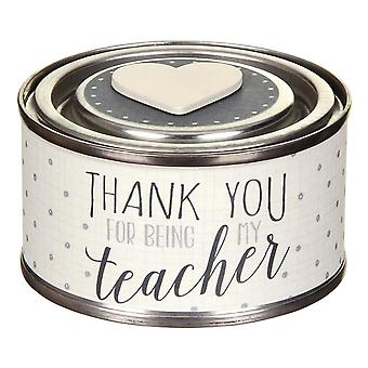 East of India Thank You Teacher  Gift Scented Candle