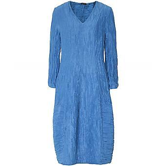 Grizas linnen & zijde V-hals jurk