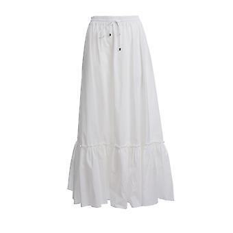 Pinko 1b14lv8012z04 Frauen's weiß Baumwollrock