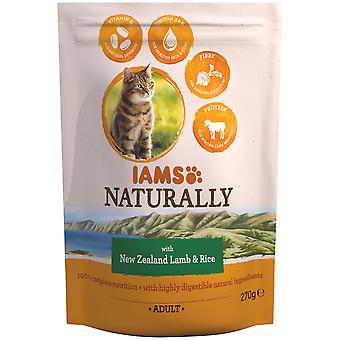 IAMS Naturally Adult with New Zealand Lamb & Rice (Cats , Cat Food , Dry Food)