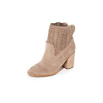 Dolce Vita Womens Landon Leather Closed Toe Ankle Fashion Boots