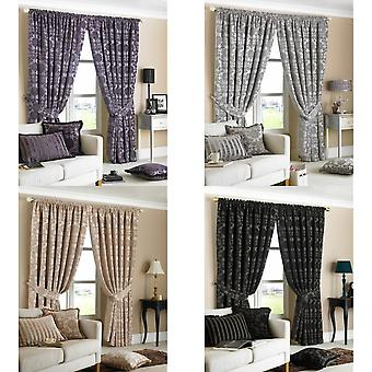 Riva Home Hanover Pencil Pleat Curtains