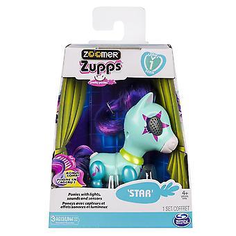 Zoomer Zupps hübsche Ponys Pony Star Roboter Haustiere Lichter Sounds & Sensoren