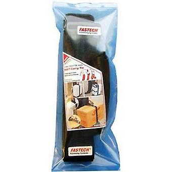FASTECH® 923-330-Bag Hook-and-loop tape with strap Hook and loop pad (L x W) 1700 mm x 50 mm Black 1 pc(s)