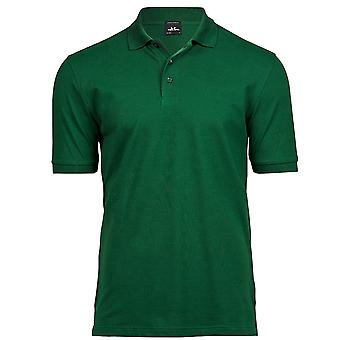Tee Jays Mens Luxe Stretch Pique Polo Shirt
