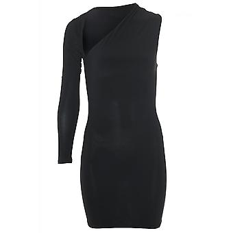 Attitude Clothing One Sleeve Bodycon Dress