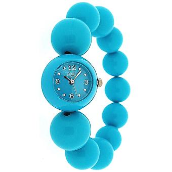 Reflex Ladies Turquoise/Blue Analogue Large Bead Fashion Wrist Watch BBR003
