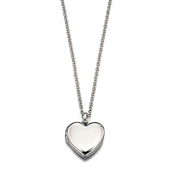 Little Star Olivia Silver Heart Children's Locket