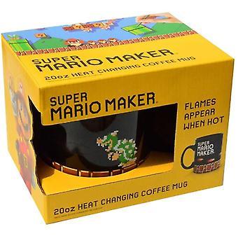 Super Mario Bowser Heat Change Mug