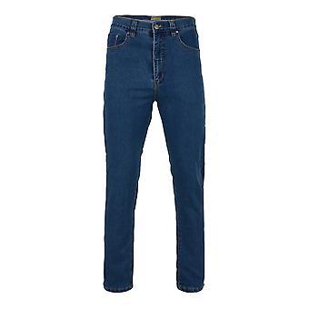 Kam Jeanswear Stonewash Stretch Denim Jeans
