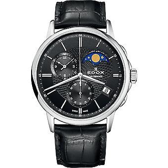 Edox 01651 3 NIN Les Bémonts Heren Horloge