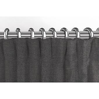 McAlister têxteis Savannah cinza carvão cortinas
