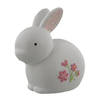 Petit Cheri Pink Rabbit Money Bank