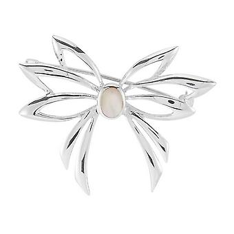 Orton West Shell Brooch - Silver