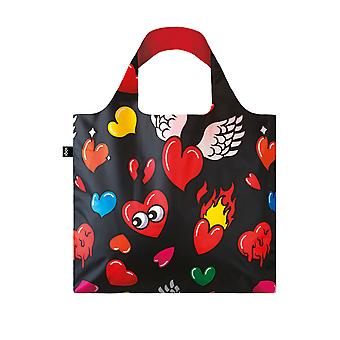 Loqi Women's Pop Hearts Bag
