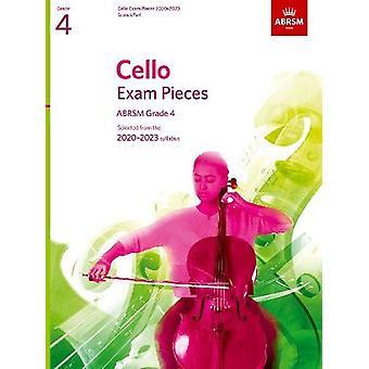 Cello Exam Pieces 2020-2023 - ABRSM Grade 4 - Score & Part - Selec