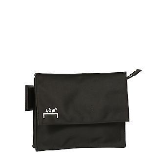 En kall vägg Acwug002whlblak Män & apos, s svart polyester messenger väska
