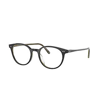 Oliver Peoples Mikett OV5429U 1441 Black-Olive Tortoise Glasses