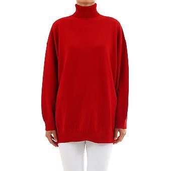 Balenciaga 583137t40926400 Women's Red Cashmere Sweater