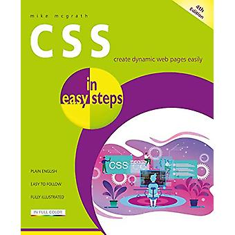 CSS in easy steps by Mike McGrath - 9781840788754 Book